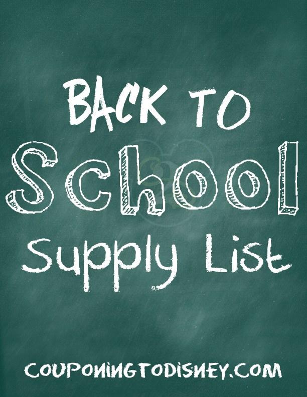 2015-16 Canton High School Supply List