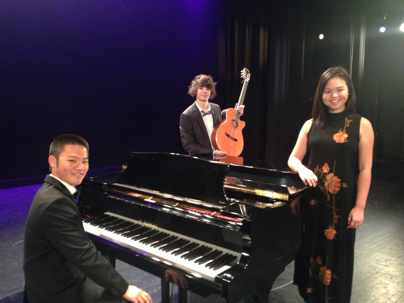 Spartan Musicians Perform At Rising Stars Classical Music Competition