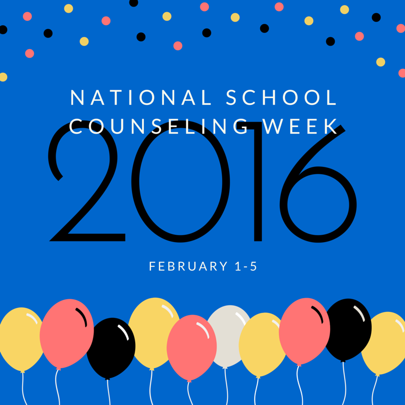 National Counselor's Week - February 1-5, 2016