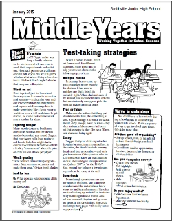 Middle Years Parent Newsletter