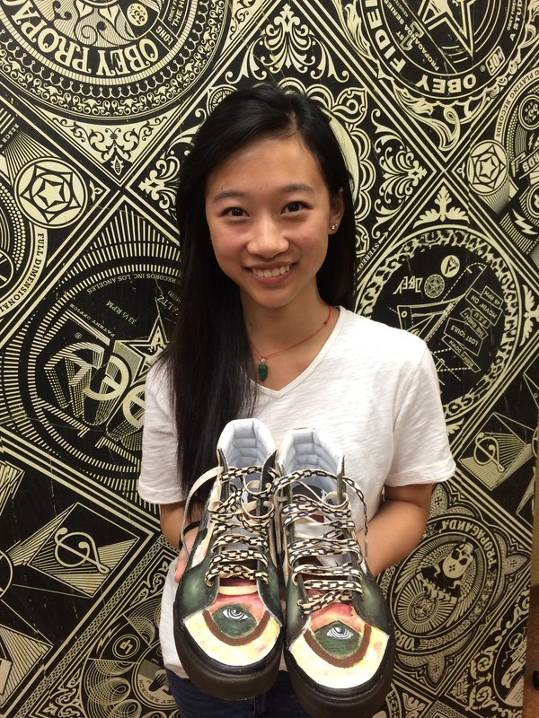 Diamond Bar High students compete in Vans custom kicks contest