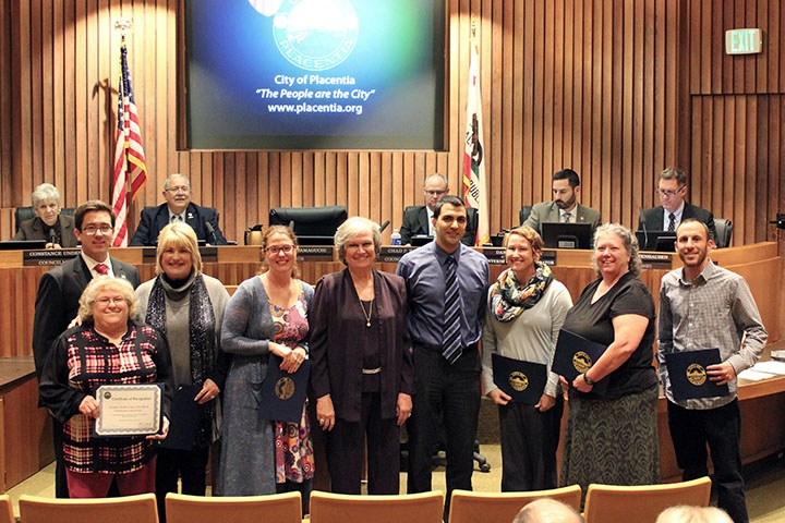 Eight teachers receive generous grants from City of Placentia
