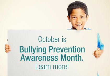October is National Bullying Prevention Awarness Month Thumbnail Image