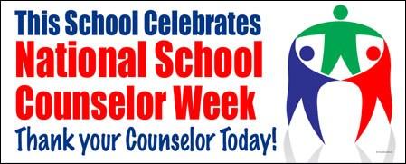 Help us celebrate National School Counselor Week!