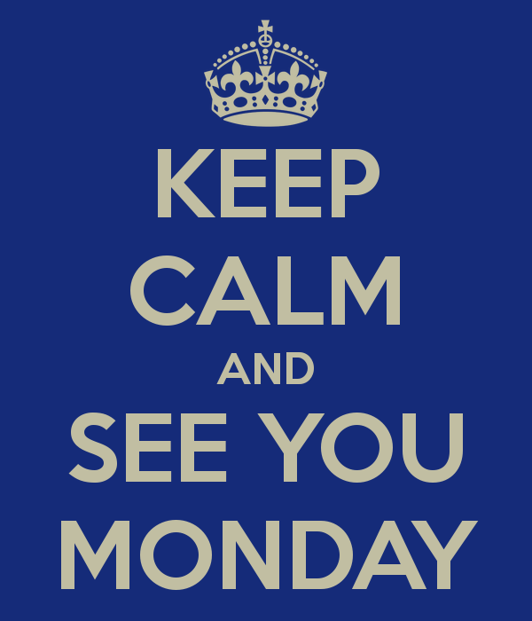 See you this Monday for Our First Day of School/Nos Vemos el Lunes!