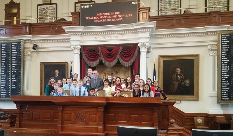 Student Leadership Tour State Capitol Thumbnail Image