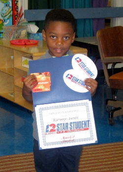 North Early Learning Center Names Star Student