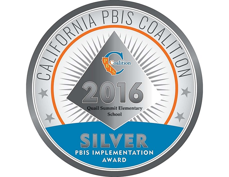 Quail Summit Awarded with PBIS Silver Implementation Award Thumbnail Image