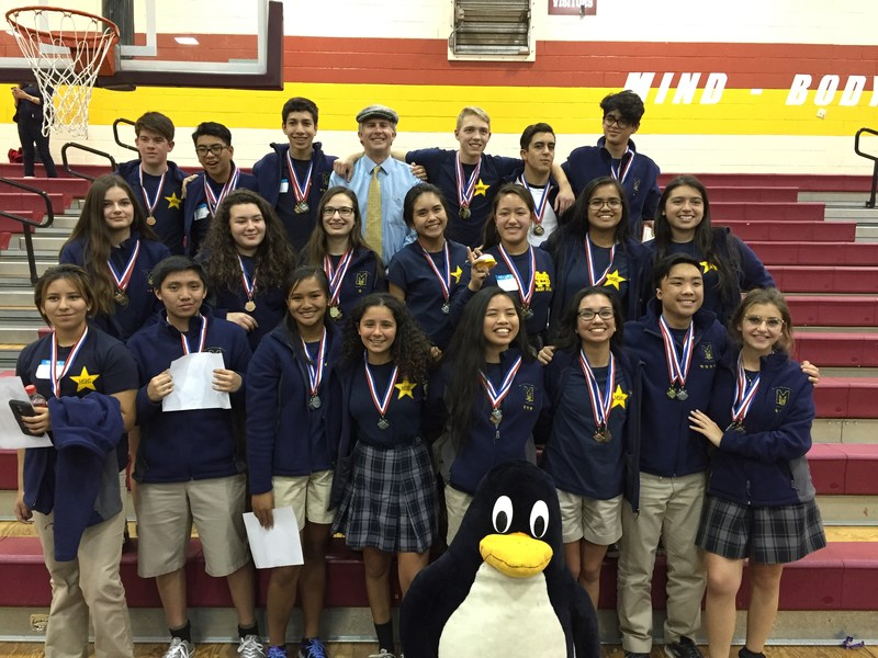 Academic Decathlon Take Home 46 Medals