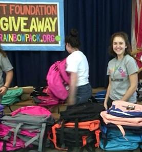 Teen's generosity equips East Valley students to start school