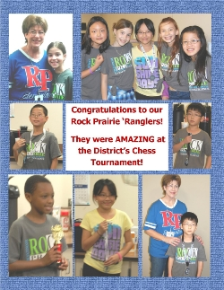 Congratulations RP 'Ranglers at the CSISD Chess Tournament! We are so proud of your Hard Work!!