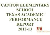 2012-13 Texas Academic Performance Report (TAPR)