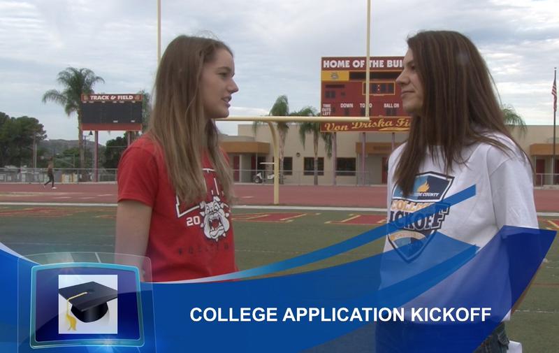 Hemet High School's College Kickoff