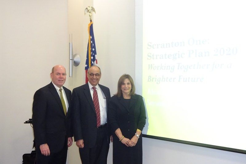 Superintendent Presents Strategic Plan to Scranton Chamber of Commerce