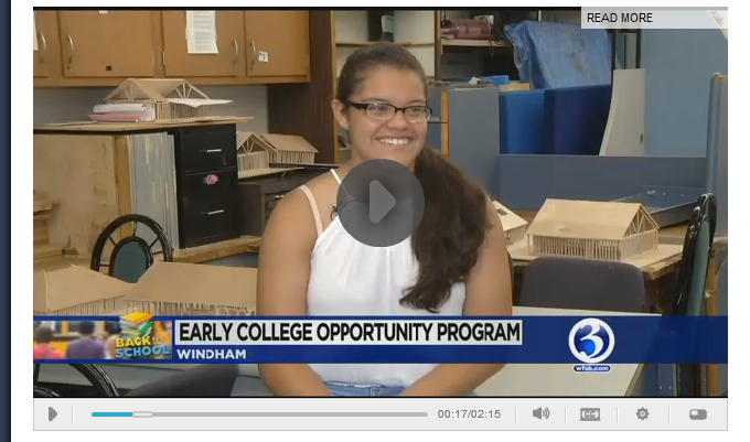 ECO Students Interviewed on WFSB Thumbnail Image