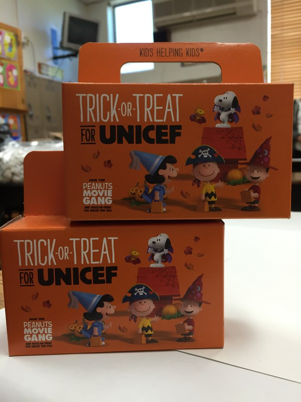 Trick-or-Treat for Unicef Service Learning Project