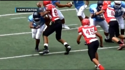 OSU offers football scholarship to Kahuku 8th Grader