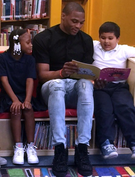 Westbrook Opens 'Reading Oasis' at 75th Street Elementary School