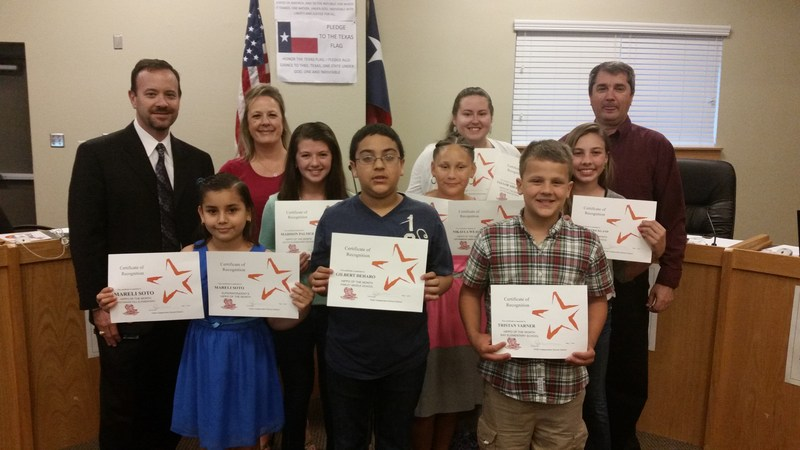 Hippos of the Month honored at board meeting