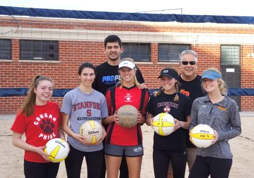Beach volleyball club is newest campus club