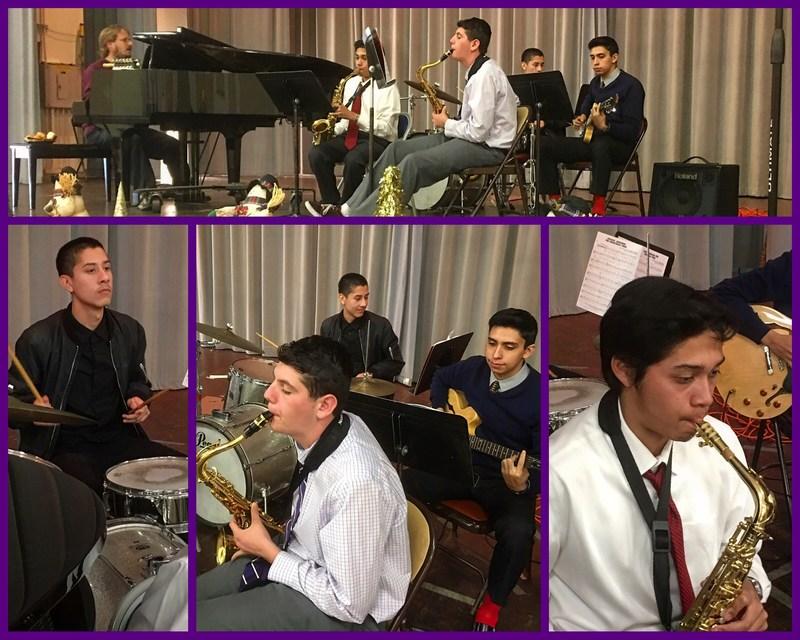 Jazz Band Performing as Service Thumbnail Image