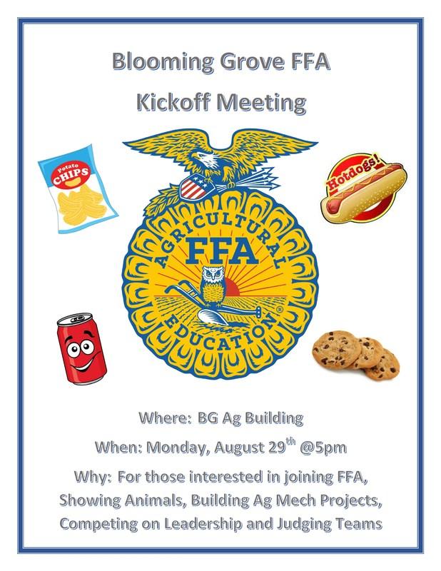BG FFA Kick Off Meeting Thumbnail Image