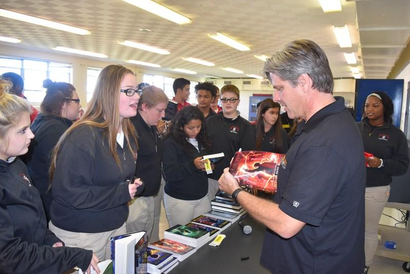 Richard Paul Evans, author, visits Bishop Luers Thumbnail Image