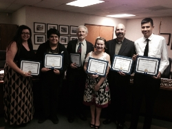 CTE Students Honored