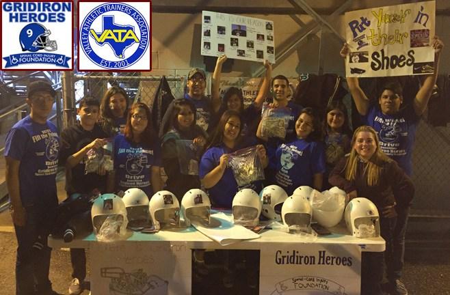 MHS Students Score big Helping Gridiron Heroes