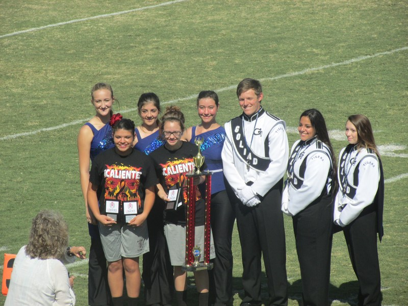 KENEDY HIGH SCHOOL MARCHING BAND TAKES FIRST PLACE AT USBANDS MARCHING CONTEST