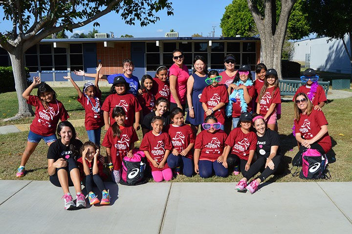 Students at Ruby Drive Elementary receive new running shoes