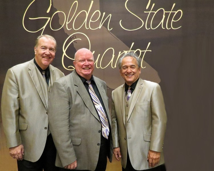 GOLDEN STATE TRIO is coming to St. Paul's!!!