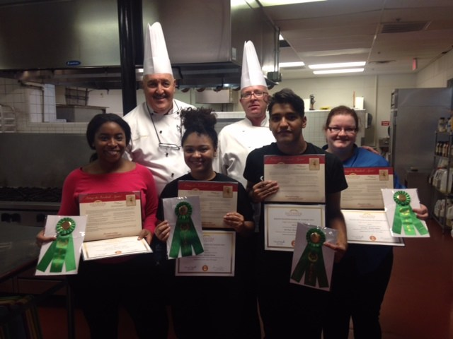 Hutto HS Culinary Arts place at state cooking competition