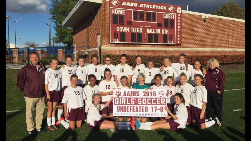 Congratulations to the 7/8th Grade Soccer Team! Thumbnail Image