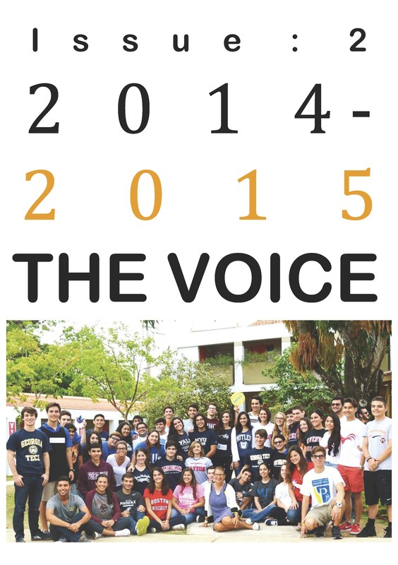 THE VOICE Student Newspaper is here!