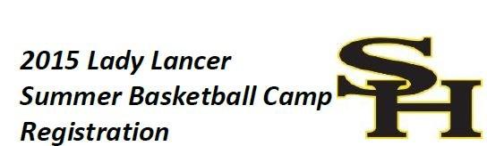 2015 Girls Basketball Summer Camp