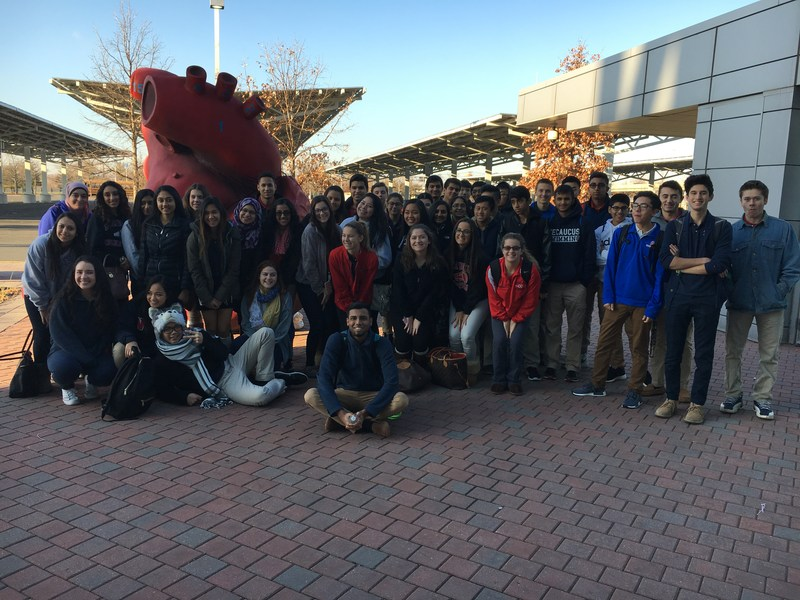 Science Classes Visit the Liberty Science Center Thumbnail Image