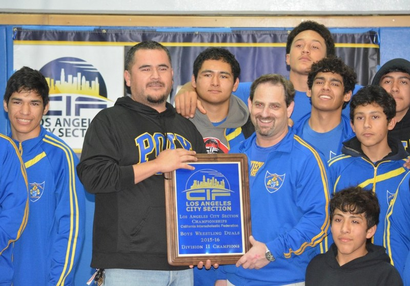 El Camino Real and Polytechnic Victorious at Wrestling Dual Championships
