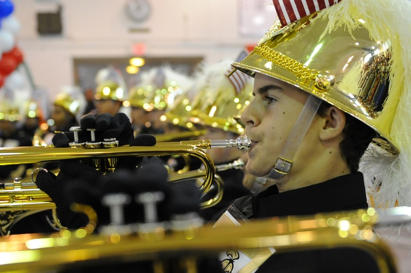 Support Band & Guard on February 4