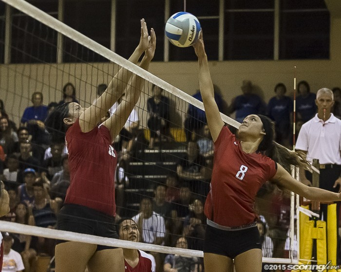 Kahuku Girls Varsity Volleyball Reaches State Championship Round