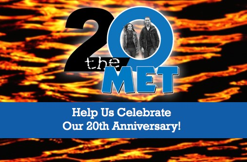 Help Us Celebrate Our 20th Anniversary