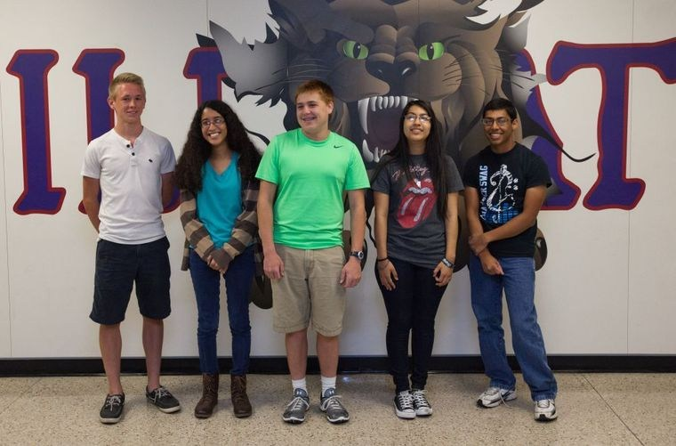 Temple High Seniors Honored for Academics
