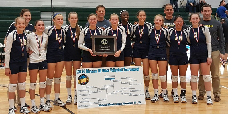 SBS Volleyball Team Wins State Title Thumbnail Image