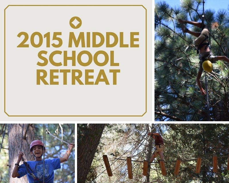 Middle School Retreat - From the Perspective of a Middle Schooler