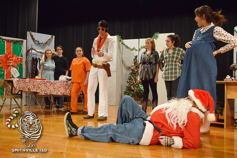 "Theater Department Performs ""Christmas Belles"" Thumbnail Image"