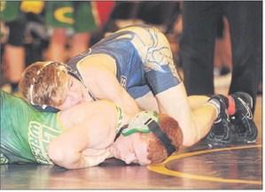 Coloma wrestling photo