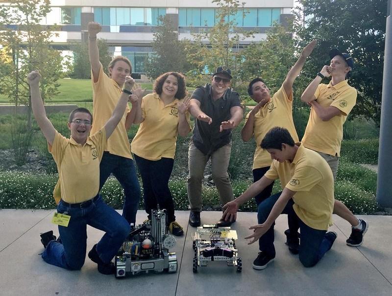 Western Center Academy Robotics Team Visits Qualcomm Headquarters