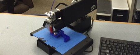 Coding Club's 3-D Printer