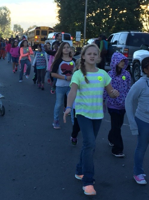 October is Walking Month at Thomasville City Schools