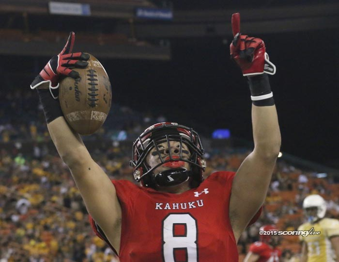 Kahuku pulls away from Mililani for OIA title, 20-7